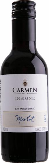 Carmen Insigne Merlot 2015  - 187 ml