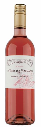 Le Temps des Vendanges IGP Comté Tolosan rosé 2015