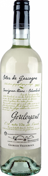 Gouleyant Côtes de Gascogne blanc 2015