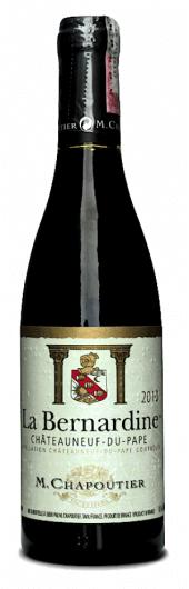 Châteauneuf-du-Pape La Bernardine 2014 - meia gfa.
