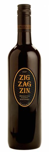 Zig Zag Zinfandel Smokin Mendocino 2012