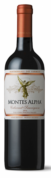 Montes Alpha Cabernet Sauvignon 2014