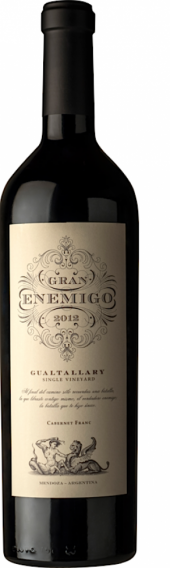 Gran Enemigo Single Vineyard Gualtallary 2012