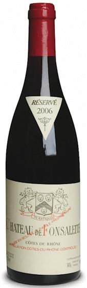 Côtes-du-Rhône Ch. de Fonsalette rouge 2003