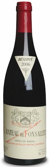 Côtes-du-Rhône Ch. de Fonsalette rouge 2004