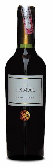 Uxmal Syrah Malbec 2016  - meia gfa.