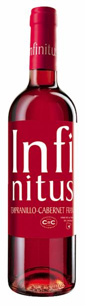 Infinitus Tempranillo/Cabernet Franc rosado 2015