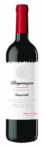 Bayanegra Tempranillo 2016