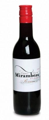 Château Tour de Mirambeau La Réserve rouge 2014  - 187 ml