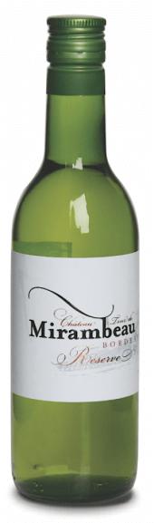 Château Tour de Mirambeau La Réserve blanc 2016  - 187 ml