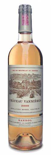 Chateau Vannières Bandol rosé 2016