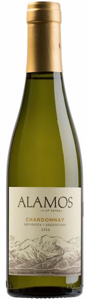 Alamos Chardonnay 2016  - meia gfa.