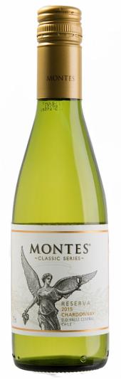 Montes Chardonnay Reserva 2015  - meia gfa.