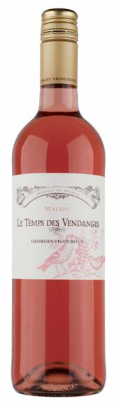 Le Temps des Vendanges IGP Comté Tolosan rosé 2016