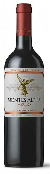 Montes Alpha Merlot 2014