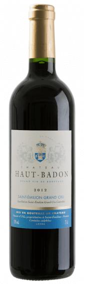 Château Haut Badon 2012