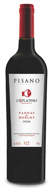 Cisplatino Tannat Merlot 2016