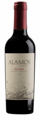Alamos Malbec 2017  - meia gfa.