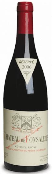 Côtes-du-Rhône Ch. de Fonsalette rouge 2008