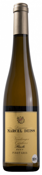 Pinot Gris Vendanges Tardives 2008  - 500 ml.