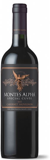 Montes Alpha Special Cuvee Cabernet Sauvignon 2015