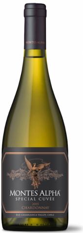 Montes Alpha Special Cuvee Chardonnay 2015