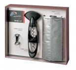KIt Presente 2, composto de saca-rolhas Twister, bico servidor e cooler Rapid Ice