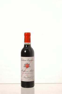 Château Poujeaux 1999  - meia gfa.