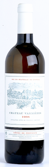 Côtes de Provence blanc 2003